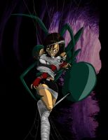 Tifa in the Spider's Webbing by burnup19