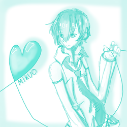 Mikuo Scribble by pandapia