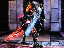 In Soul Edge's clutches by XD-385