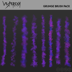 Grunge Brushes by Vesperexa by Vesperexa