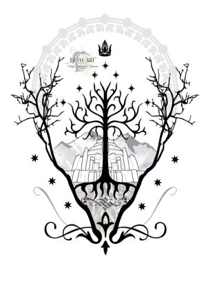 Gondor - The white city by Liette-Official