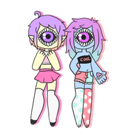 [c] - DreamingErrors [tiny chibis] by hello-planet-chan