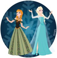 Queen Elsa and Princess Anna prt 4 by toown