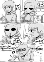 Eddsworld mini comic - stealing by jettnight