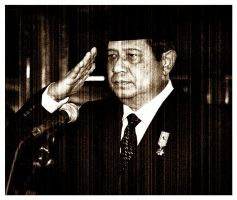 Grained Photo of SBY by XaliberDeathlock