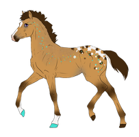 N3225 Padro Foal Design for DarkestNation by casinuba