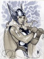 That's MISS Thor, Thank You by AdamHughes