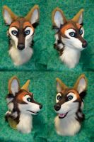 Carbine Coyote Head by temperance