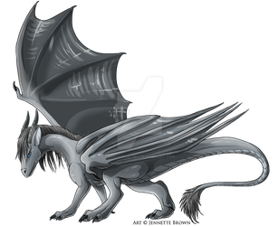Storm Dragon by sugarpoultry
