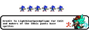 Sonic Custom Idle  1 by FrostBurned-Soul