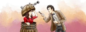 Oswin and the Doctor by Asenath23