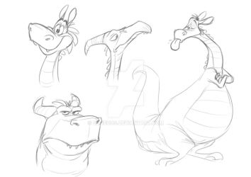 Some Draggies by Eligecos