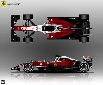 Ferrari SF15-T 2015 by hanmer