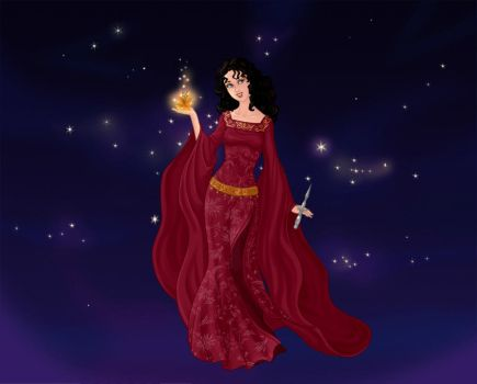 Mother Gothel Goddess by A1r2i3e4l5