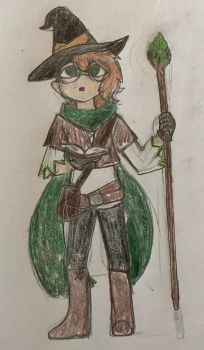 Jade the Witch by delcattylover469