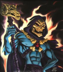 Skeletor by Wo-LF