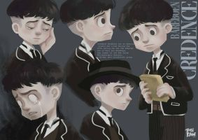 Credence-Fantastic beast by ThisIsTK