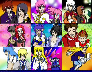 To Symphonia and To Vesperia by Dayz26