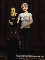 The Puppet Show - with Dorothy and Emmet #01 by Edheldil3D