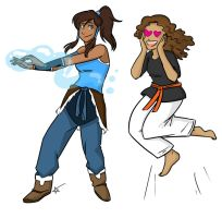 Korra Love by starlinehodge