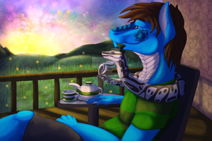 Tea Time by LadyDistort