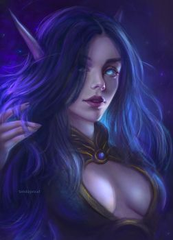 void elf commission by TamikaProud