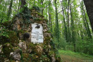 Monument in the woods by GiovanniSantostefano