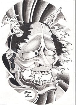Hannya Mask - by mcxr