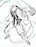 Commish 159 WIP 02 by RobDuenas