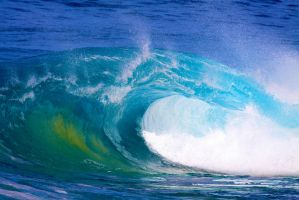 Blue Wave by manaphoto