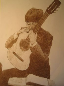 george harrison by maggie14and1