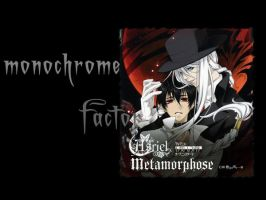 Monochrome Factor Wallpaper by TheRedEyedGirl