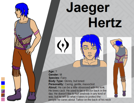 Character Sheet - Jaeger by Phipps1666