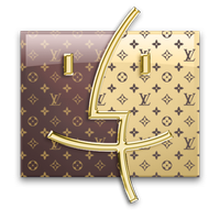 Louis Vuitton Finder for Mac by Somonette