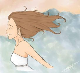 Feel The Wind by Rocio162