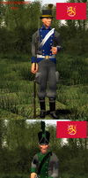 Napoleonic wars uniform challenge part 2. by Samuraiknight-1600
