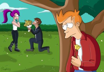 Futurama - Too late Fry by Prophecy2011