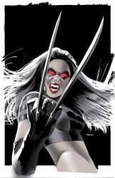 X-23 Vampire Variant Color by mikemayhew