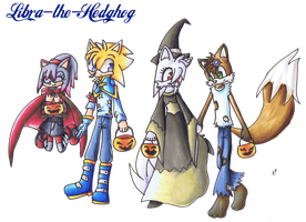 Halloween Costumes by Libra-the-Hedghog