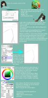 Paint Tool Sai - Grass Tutorial by BesaChan