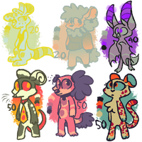 Adopts! BUY EM' (OPEN) by OliveCow