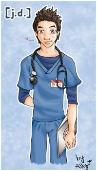 J.D. from Scrubs by AllyScrubsLove