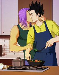 Commission for Truhania: Cooking by toluenesister