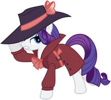 Vector 033 - Detective Rarity by MPnoir