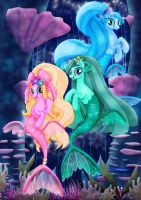 MLP_The Mermaids_Movie Style. by jucamovi1992