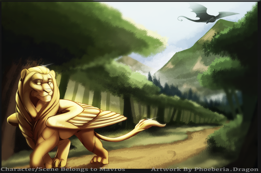 The Golden Lion by Phoeberia