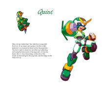Megaman ZX Live Metal: Quint by BarryBurton