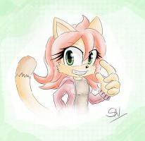 Fiona the cat - Sonic style by Dj-Reverberance
