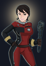 Morgan Yu from Prey by ShackleArt
