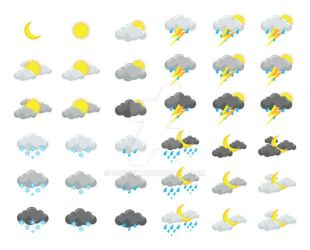 Weather icons by gogsy7